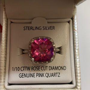 Victoria Townsend Diamond - Quartz Ring